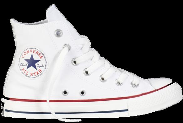 Converse All Star Высокие белые