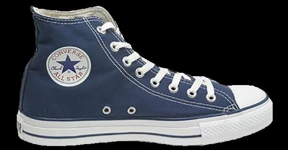 Converse All Star Высокие синие