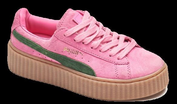 Puma Creepers by Rihanna Розовые