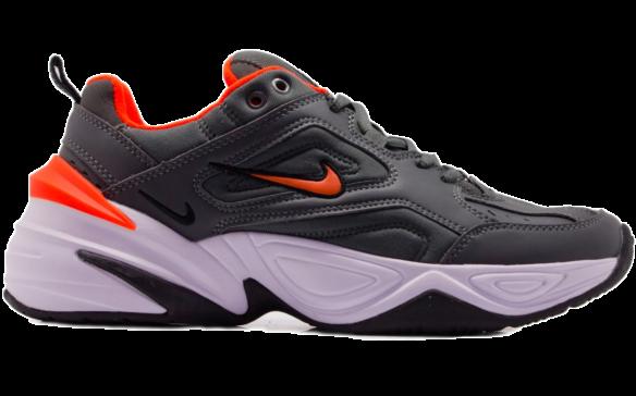 bb503802 Мужские кроссовки. Nike M2K Tekno серые с оранжевым. 7498 ₽