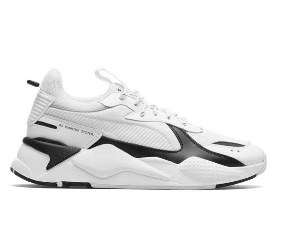 Puma RS-X Tracks White Black