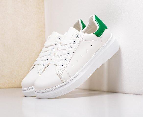 Fashion бело-зеленые