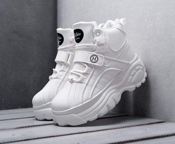 Fashion белые высокие