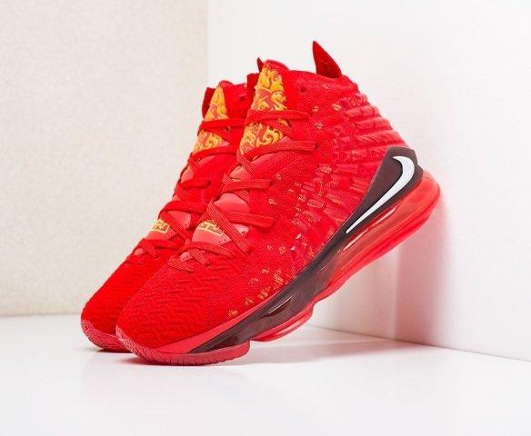 Nike Lebron XVII red