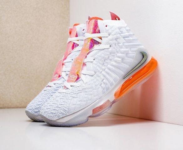 Nike Lebron XVII white