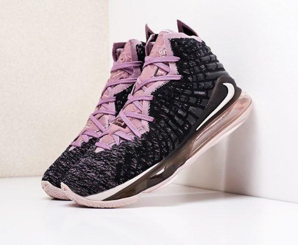 Nike Lebron XVII black-purple