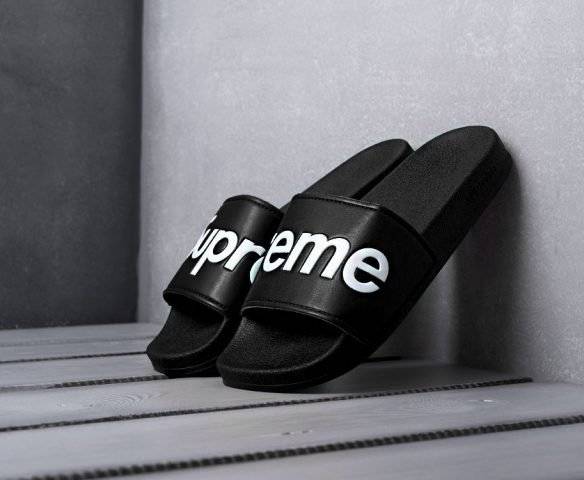 Сланцы Supreme черные