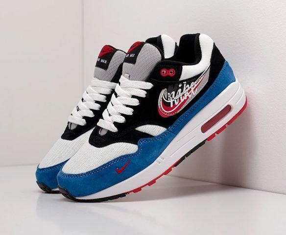 Nike Air Max 1 бело-синие