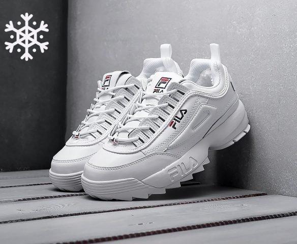 FILA Disruptor 2 winter white