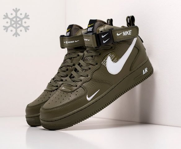 Nike Air Force 1 07 Mid LV8 winter green