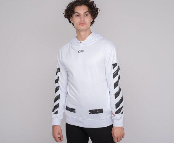 Худи OFF-WHITE black-white