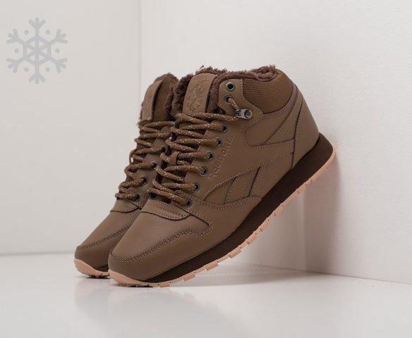 Reebok Classic Leather Mid Ripple dark brown