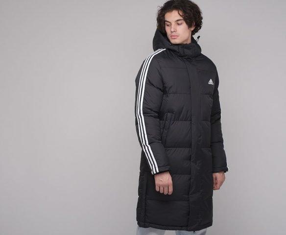 Куртка зимняя Adidas черная