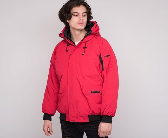 Куртка зимняя Canada Goose red