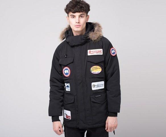 Куртка зимняя Canada Goose черная