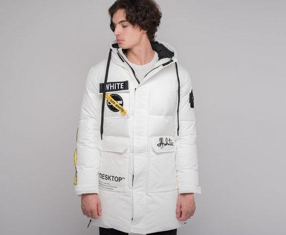 Куртка зимняя OFF-WHITE белый