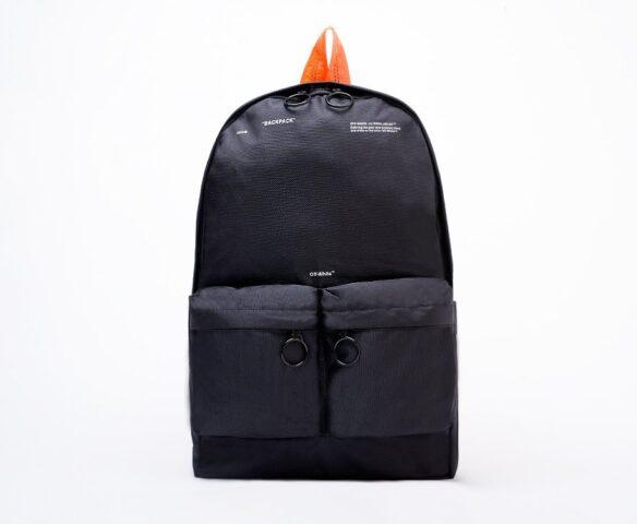 Рюкзак OFF-WHITE black-orange