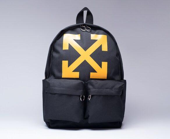 Рюкзак OFF-WHITE черно-желтый