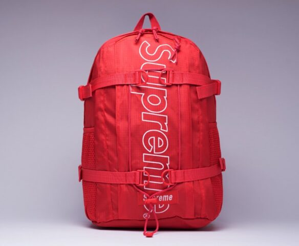 Рюкзак Supreme красный (red)