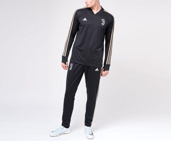 Спортивный костюм Adidas FC Juventus черный