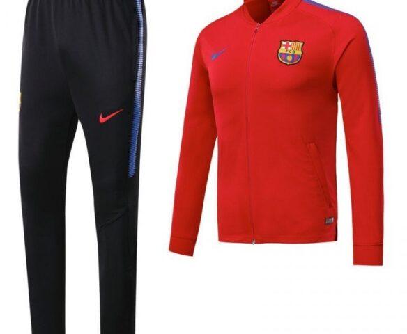 Спортивный костюм Nike FC Barcelona красный