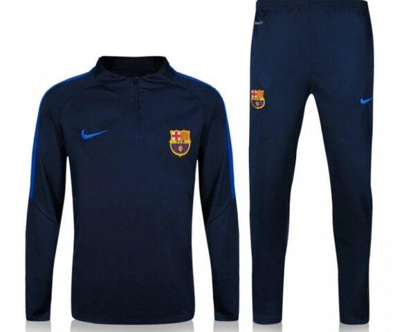 Спортивный костюм Nike FC Barcelona синий