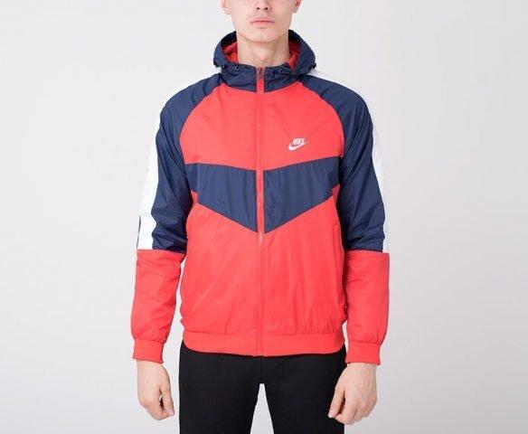 Ветровка Nike red-blue