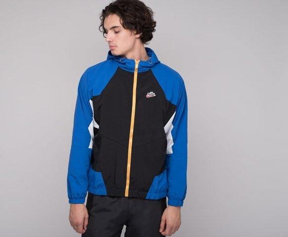 Ветровка Nike сине-черная