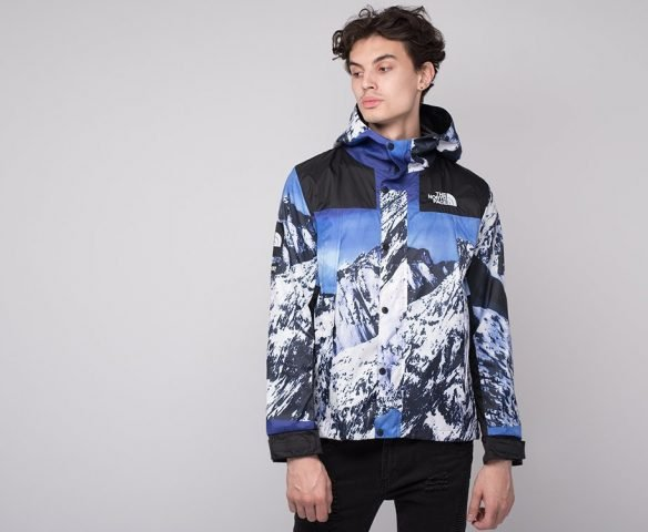 Ветровка The North Face x Supreme разноцветная