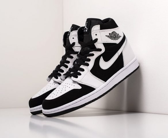 Nike Air Jordan 1 high белые (white)