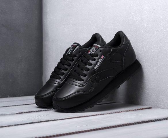 Reebok Classic Leather черные (black)