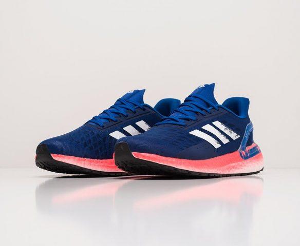 Adidas Ultra Boost 20 синие. Вид 2