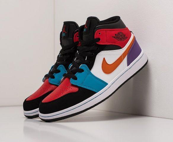 Nike Air Jordan 1 high разноцветные