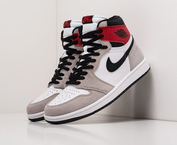Nike Air Jordan 1 high white leather