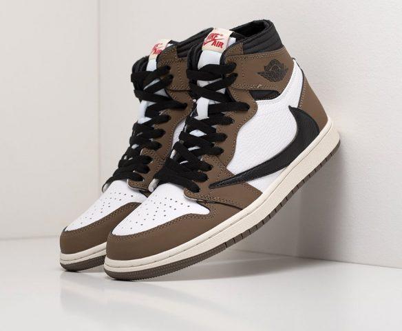 Nike Air Jordan 1 x Travis Scott white-brown