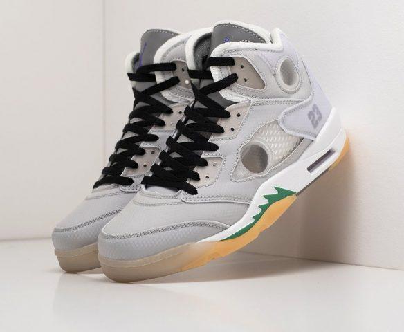Nike Air Jordan 5 серые