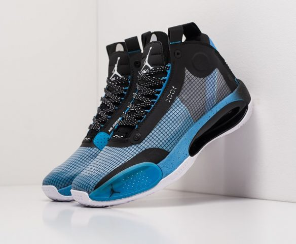 Nike Air Jordan XXXIV black-blue