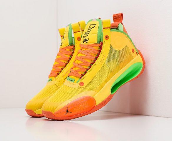 Nike Air Jordan XXXIV yellow