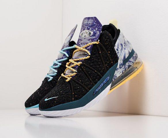 Nike Lebron XVIII черные