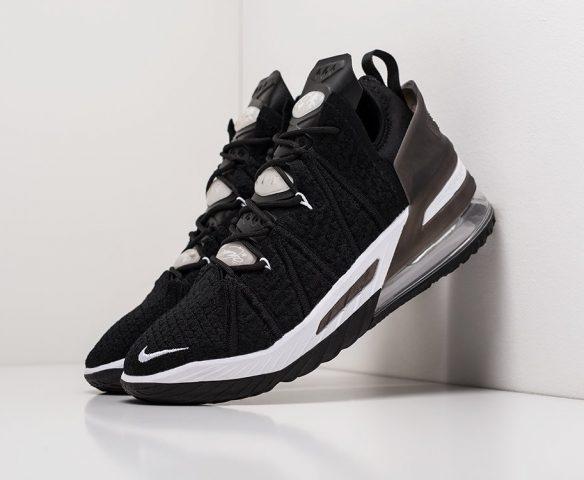 Nike Lebron XVIII black-white