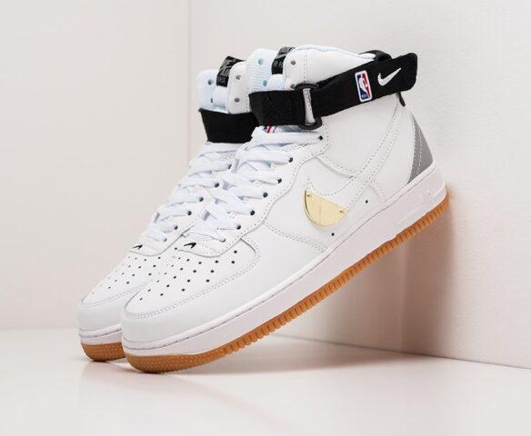 Nike Air Force 1 High white-белые