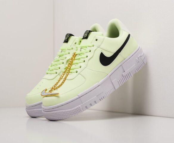 Nike Air Force 1 Pixel Low зеленые