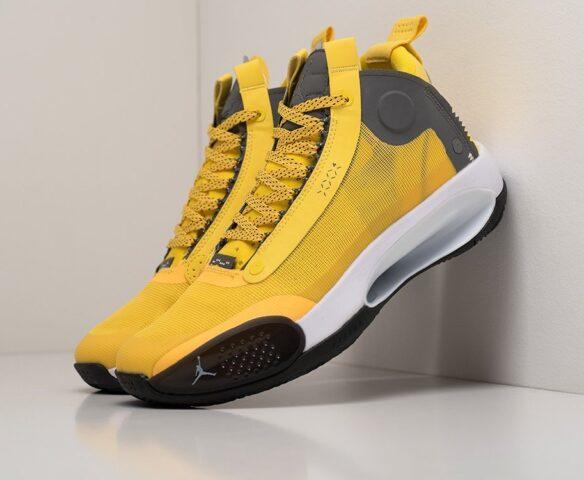 Nike Air Jordan XXXIV желтые