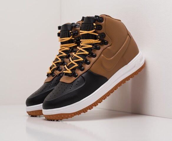 Nike Lunar Force 1 Duckboot коричневые